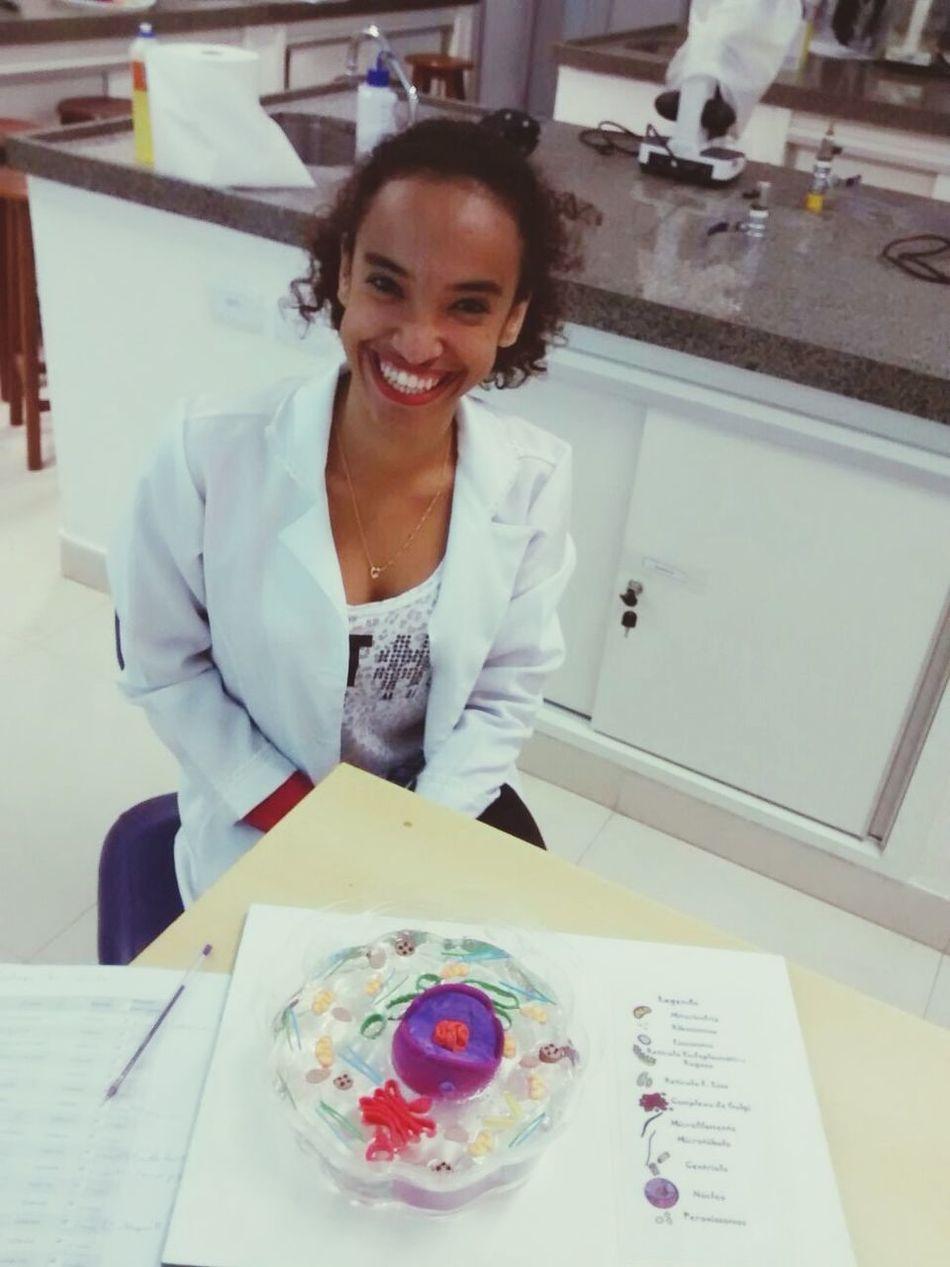 Sobre a aula de hoje ❤️🔬 Citología Biomedicina Fbv Devry