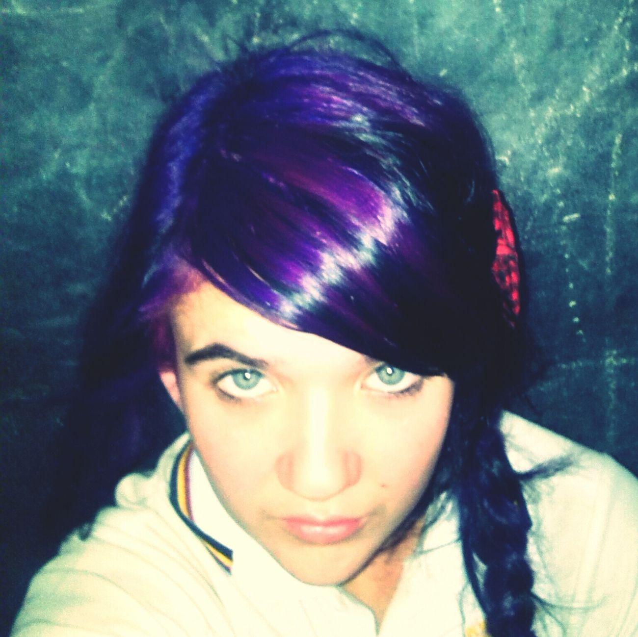 Purple ♥ Selfie Purple Hair Purple Hair Dont Care