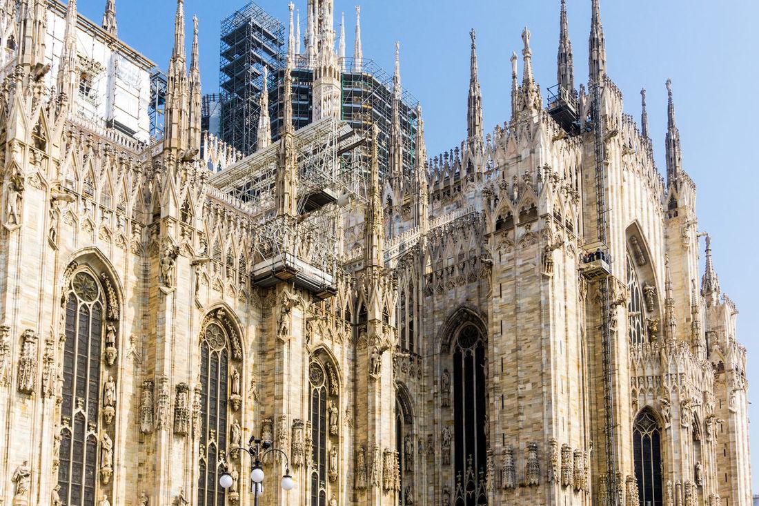Europe Trip Milan Cathedral Travel Building Built Structure Landmark Street Teavel Destination Tourism