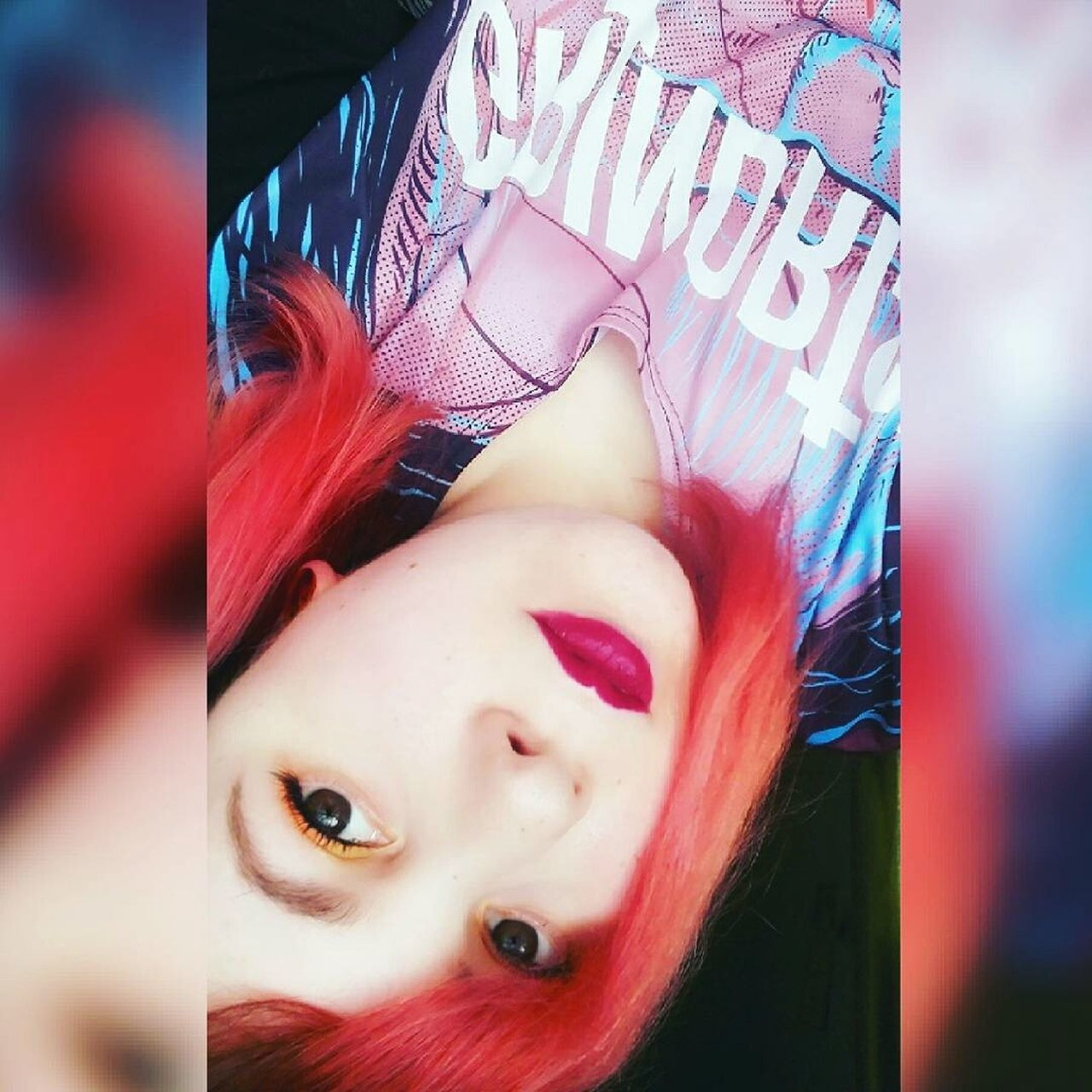 Me Itsme ThatsMe Redhair Redhead Lips Lipstick Picoftheday Photooftheday Like4like Selfie ✌ Selfies Self Portrait Selfie Portrait Portrait Girl Woman Plug Plugs Alternativegirl Shorthair Coloredhair Makeup Eyes People