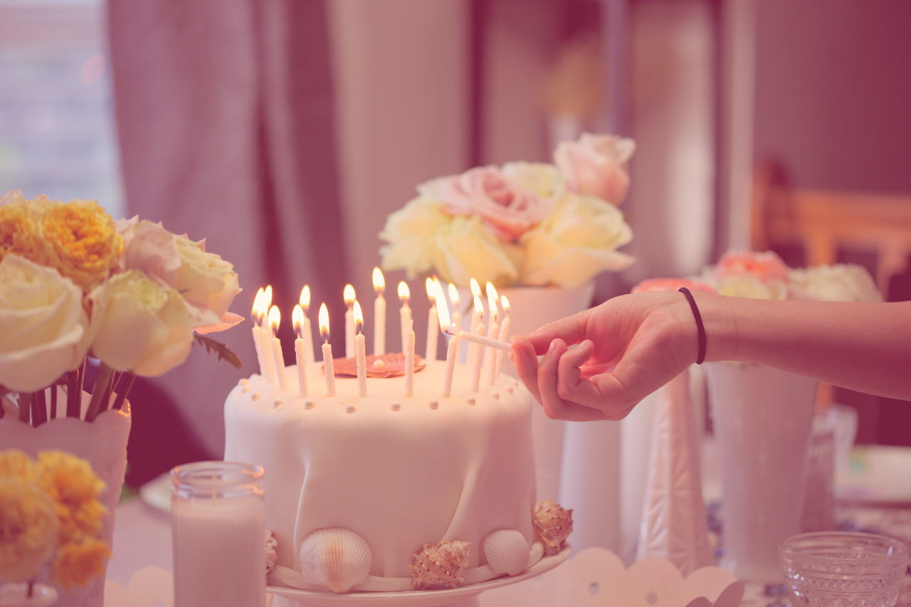 Beautiful stock photos of party, Birthday Cake, Birthday Candles, Burning, Cake