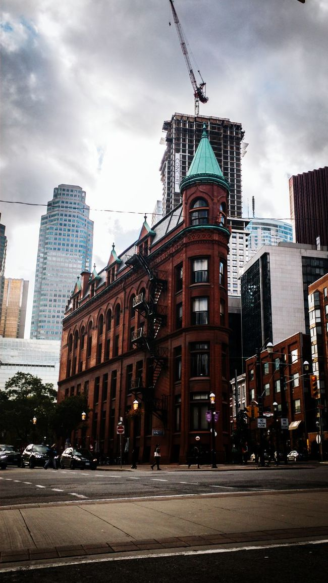 City Architecture Vertical Skyscraper Building Exterior Urban Skyline Façade Travel Destinations City Life Modern Office Building Exterior No People Cloud - Sky Sky Outdoors Clock Downtown District Cityscape Day Gooderham Building Torontophotographer Toronto Landscape Amateurphotography Toronto Canada