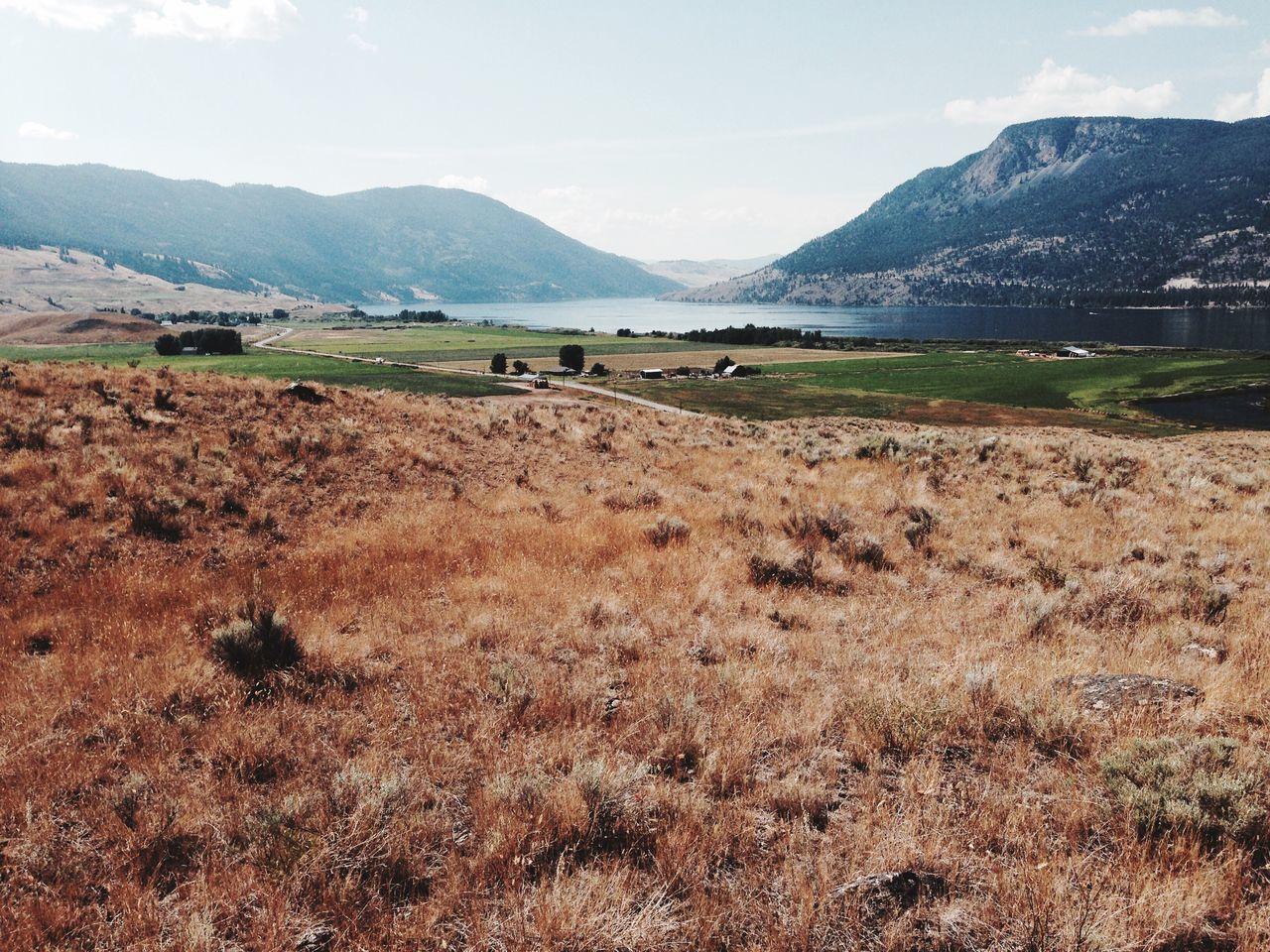 Nicola Lake Nicola Valley British Columbia Nature Landscape Cowboy Country