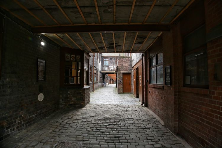 Middleport Pottery Architecture Brick Wall Building Exterior Built Structure Day Indoors  Middleport Pottery No People The Way Forward
