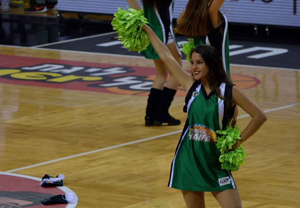 Cheer girl Basketball Cheerleading Girl Green Hands Joy Photography Photo Standing Team
