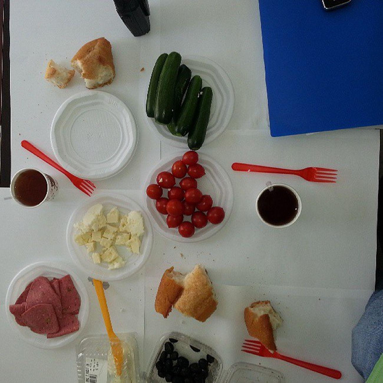 Şantiyecinin kahvaltısı