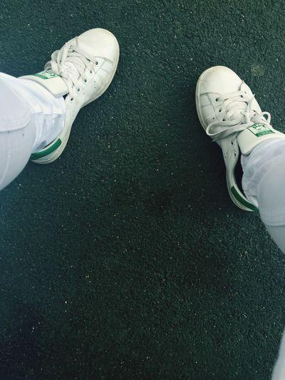 Stansmith Green White Adidas