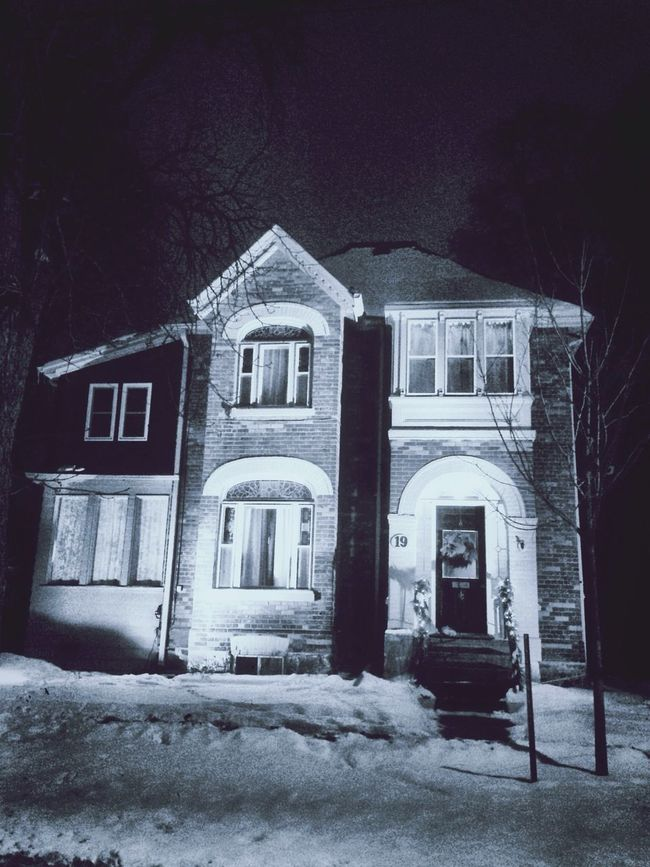 Houses I Love: Winter night series Houses I Love House Oldhouse