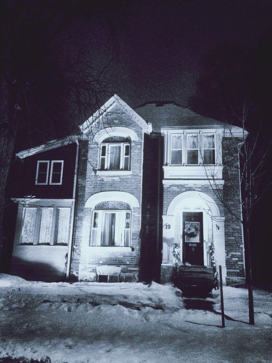 Houses I Love: Winter night series Houses I Love House Oldhouse