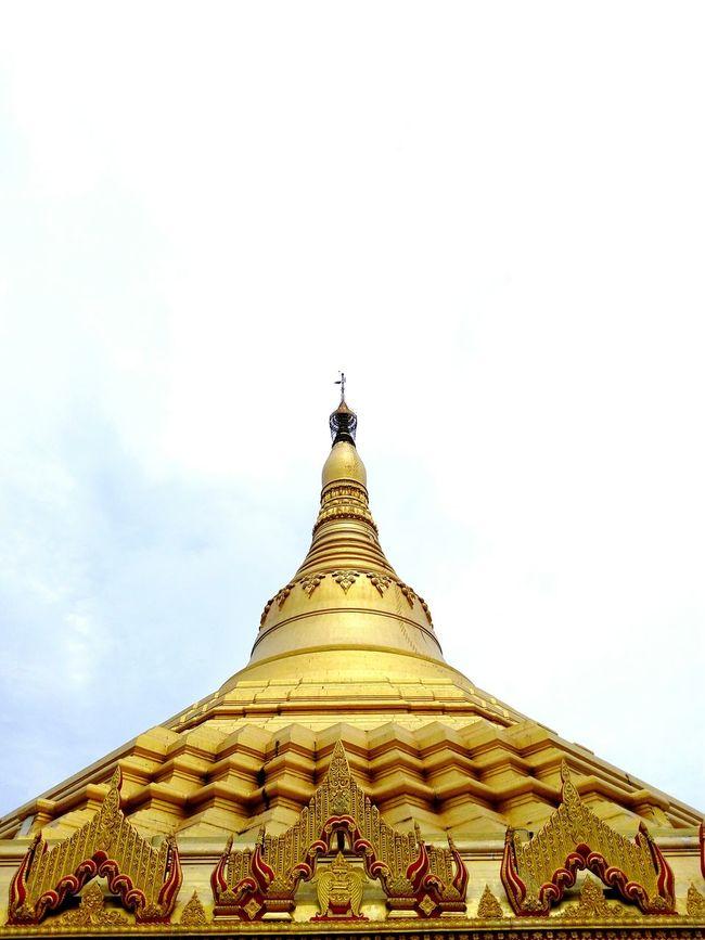 Pagodamumbai Pagoda India Dome Gold Colored Buddhism Culture Ornate Design Buddhism Temple Famous Landmarks India_clicks Pagoda International Landmark Travel Photography Buddhism Famous Places