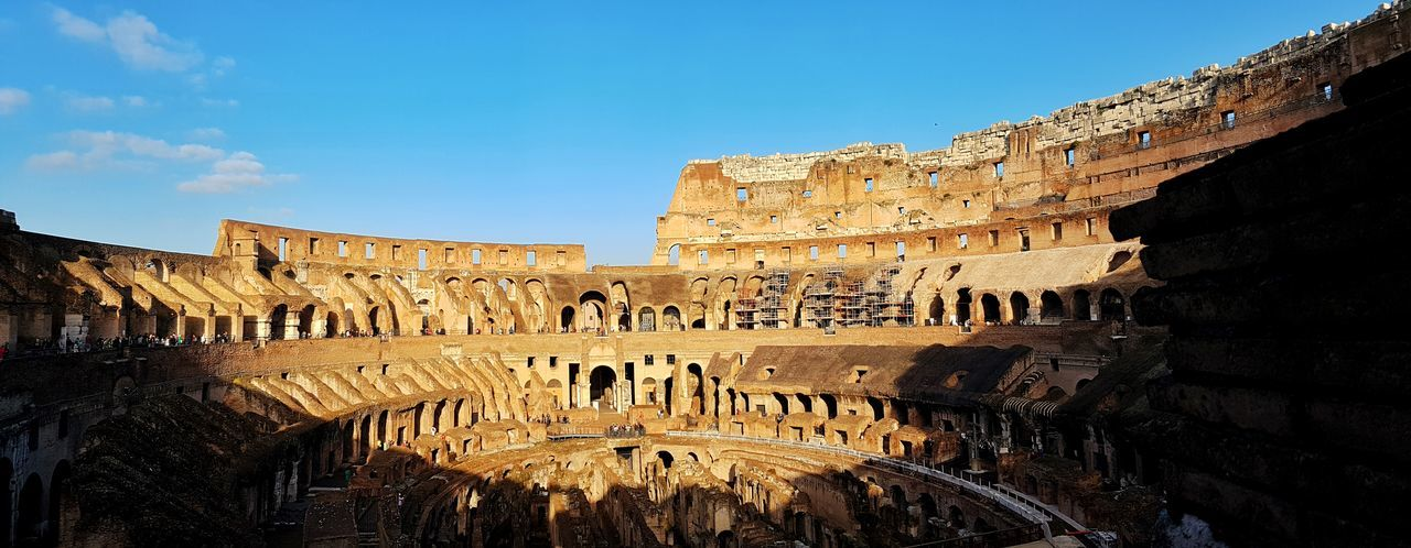 Architecture Built Structure History Travel Destinations Tourism Building Exterior The Past Famous Place Travel Ancient Blue Sky Old Ruin Ancient Civilization International Landmark Day Coliseum Capital Cities  Weathered Outdoors Coluseum Rome Italy🇮🇹 Rome Ancient Colosseum The City Light Live For The Story