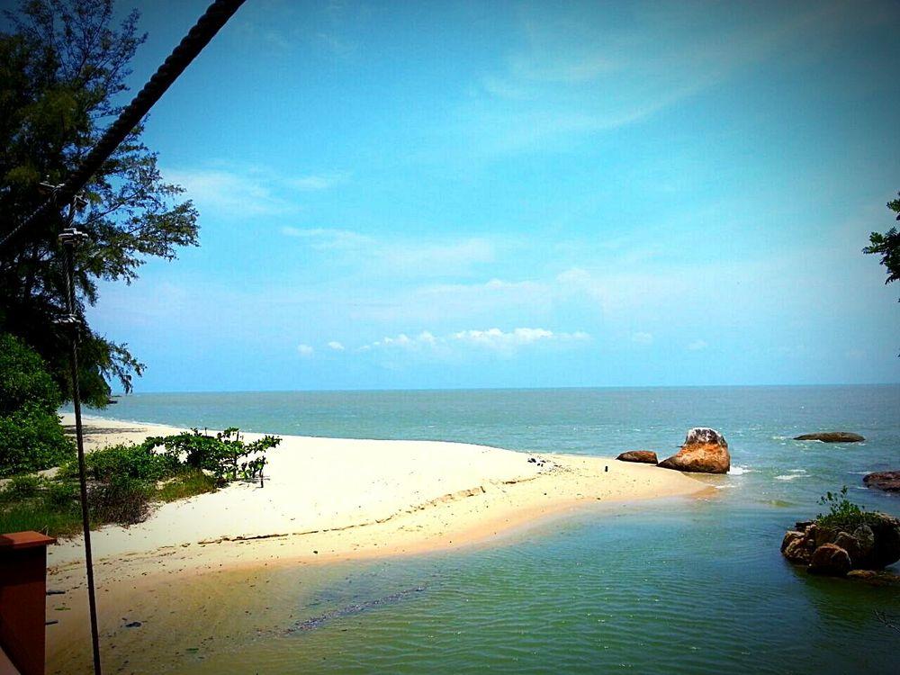 Nice Views of Kerachut Beach, Penang Malaysia.. Ilovebeach Nature_collection Landscape_Collection Naturephotography 2015Trip By Ismi_zuehaira