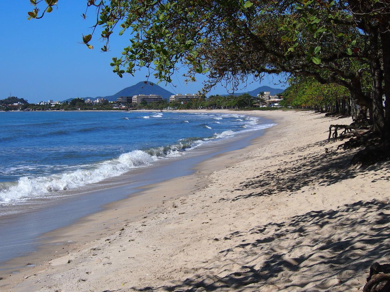 Beautiful stock photos of brazil, Horizontal Image, beach, beauty in nature, building exterior