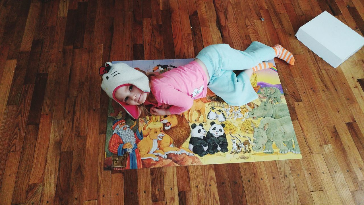 EyeEm Selects Indoors  No People Childhood Day Close-up Mammal Puzzle Time Girl