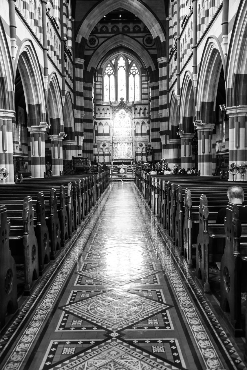 place of worship, arch, religion, spirituality, pew, indoors, architecture, the way forward, day, no people