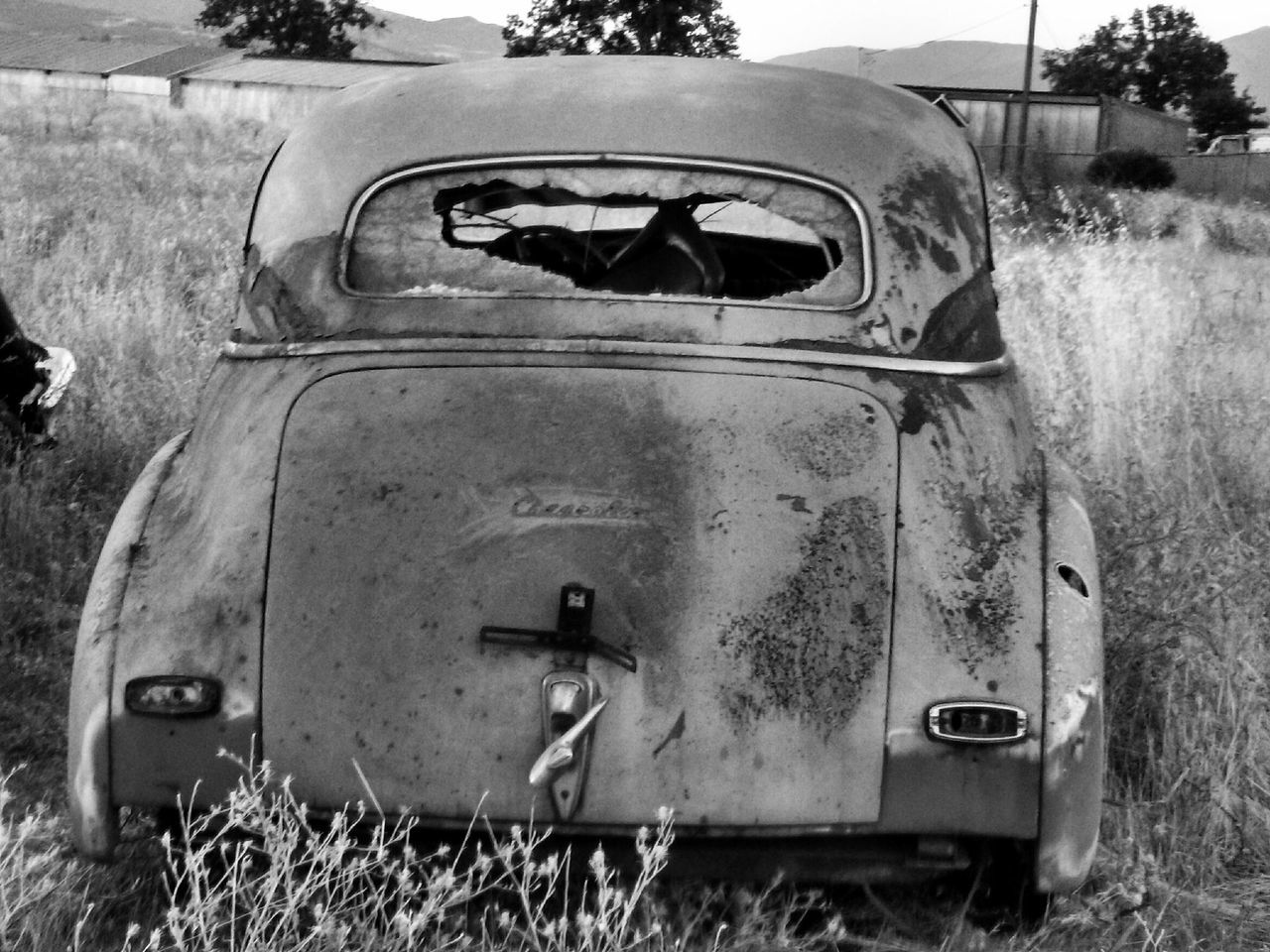 Rusty Autos Old But Awesome Classic Cars Abandoned Abandoned Car Taking Photos Outdoors My Point Of View Outdoor Photography Black And White Black And White Collection