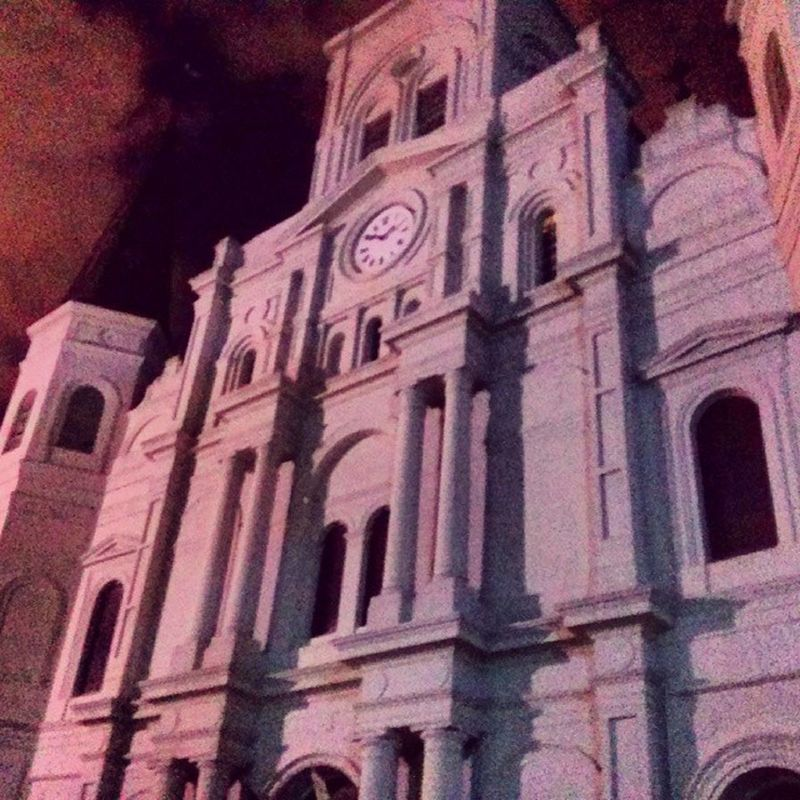 Church NOLA Chartres Frenchquarter 504 MardiGras creepy