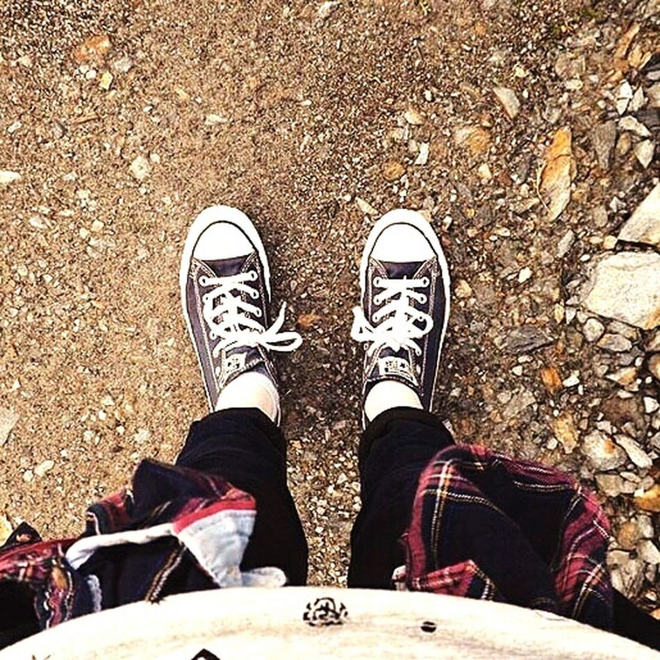 The OO Mission Feet Feetselfie Converse