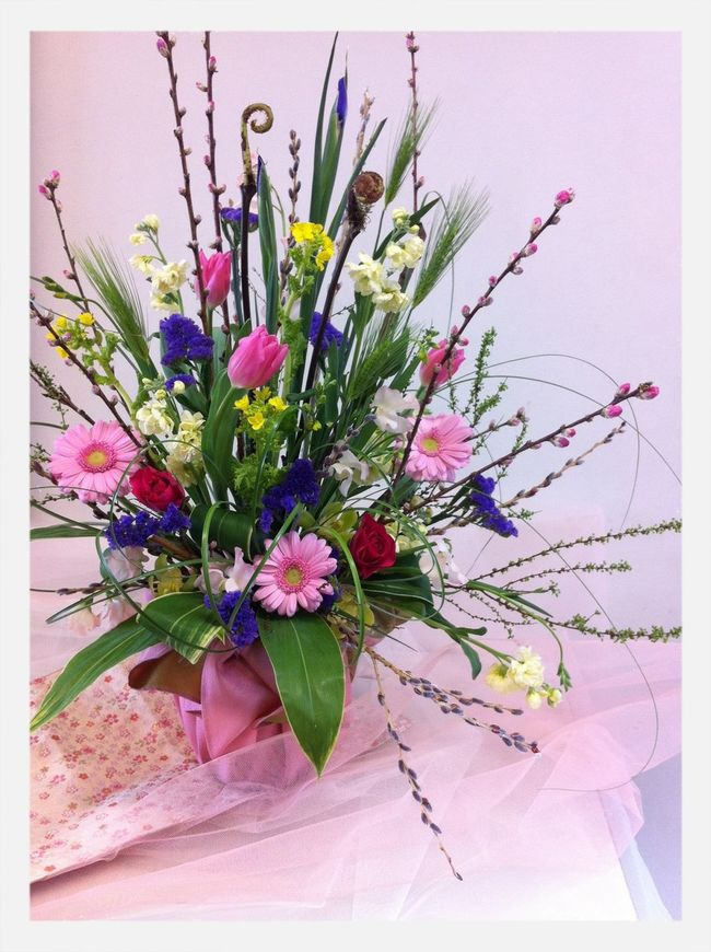 桃の節句 Flower Arrangement Flowers