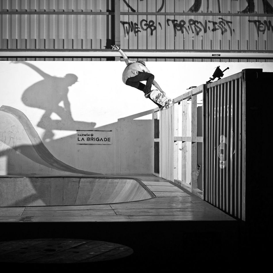 Skateboarding Rekiem Skateboards Jérémie Plisson Frontside Nose Pick