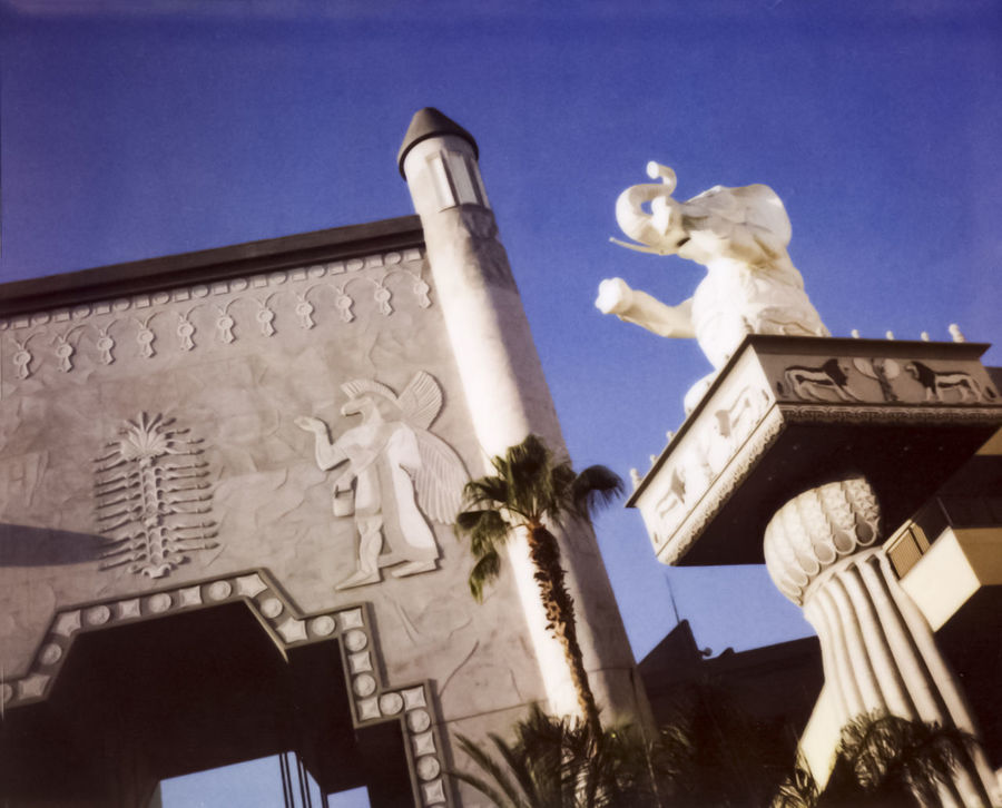 Animal Representation Art Art And Craft BL Column Egyptian Elephant Fake Historic Holly Low Angle View Monument Part Of Polariod Sculpture Silent Movie Spec Statue Wall