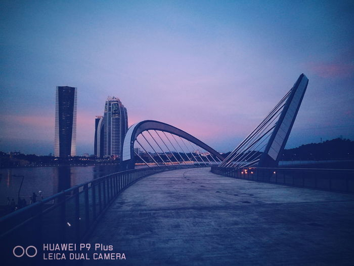 Huawei P9 Plus Bridge Outdoors Huaweip9my HuaweiP9plus Water Huaweiphotography Huaweimobilemy HuaweiP9Photography Putrajaya International Convention Centre Sky
