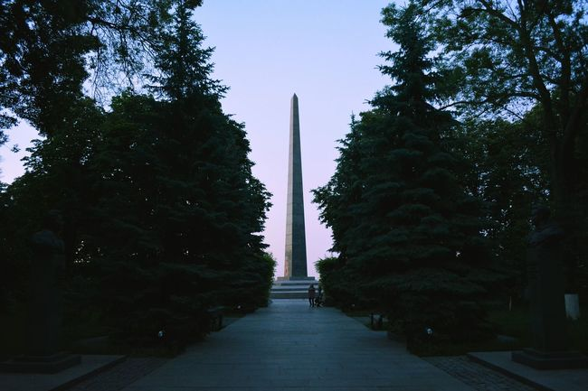 Perfect Monument In Capital Kiev City Street Photography Historical Kyiv Ancient History Love Ukraine Walk In The Park Tree Evening Between Nature Ideal Symmetry VSCO Vscocam