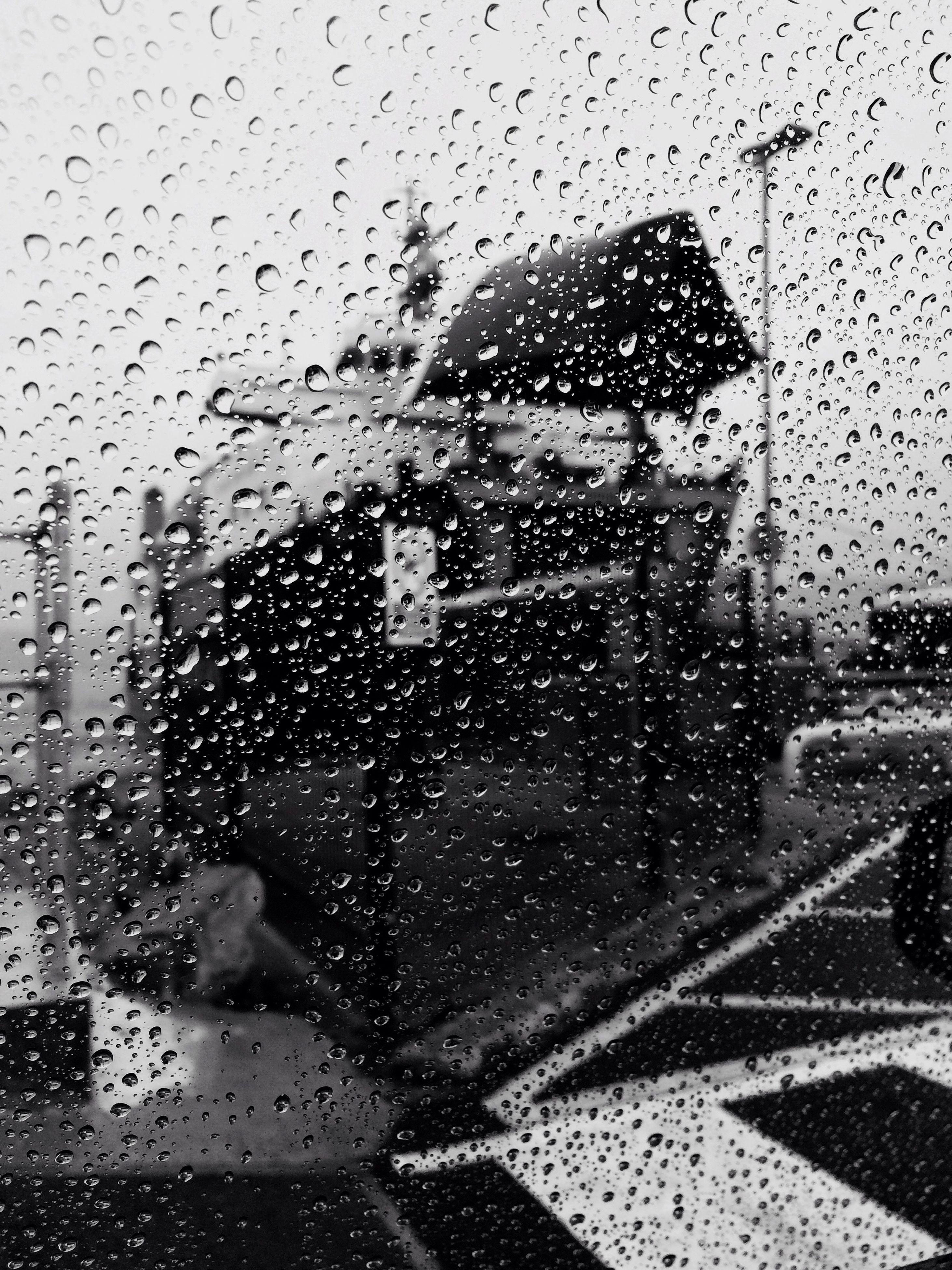 wet, window, water, drop, transparent, rain, glass - material, day, nature, city life