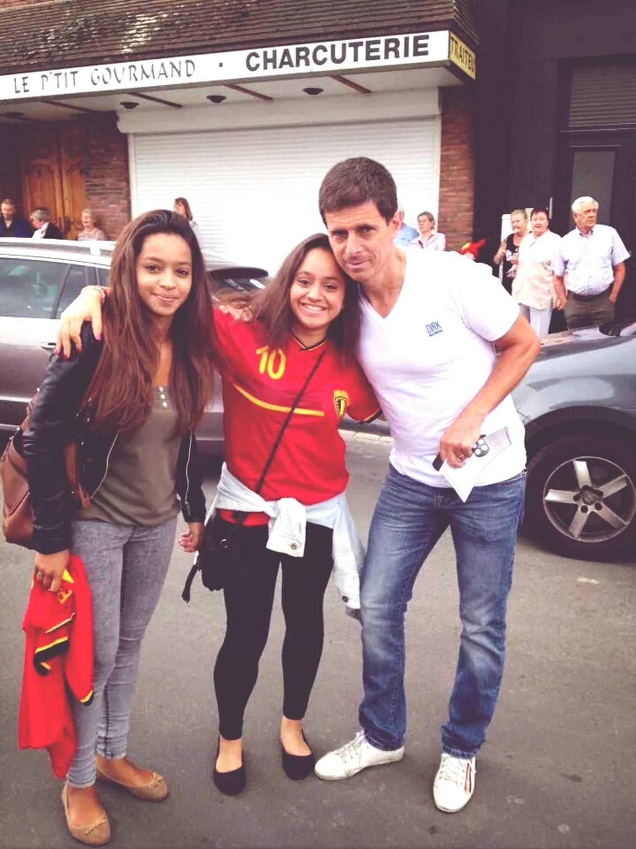 Taking Photo avec Thierry Hazard, à la rencontre d' Eden Hazard Happy :D