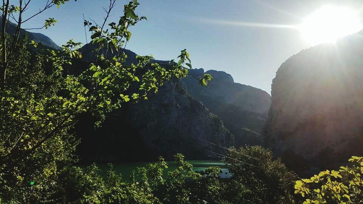 Thoughtful Melancholic Enjoying The View Disturbinglyhot Longday Cantgetenough Nature Albania PhonePhotography