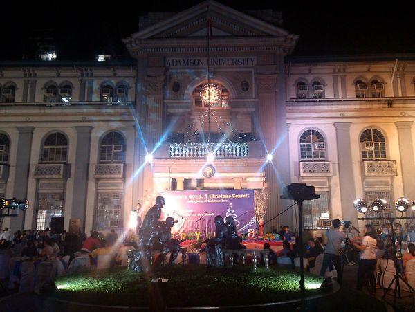 Christmaa Concert SV Facade Adamsonuniversity Eyeem Philippines