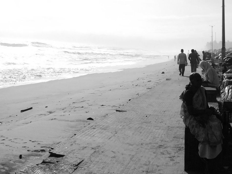 Beach Streetphotography ShotoniPhone5s IPhoneography Iphoneonly Blackandwhite Beach Photography EyeEm Best Shots Outdoors Colour Of Life Eyeemphoto Eyeem India Eyeem Kerala Eyeem Kerala(God's Own Country) Trivandrum 2016 EyeEm Awards Outskirts Typical Day City City Life Battle Of The Cities Traveling Home For The Holidays Live For The Story The Street Photographer - 2017 EyeEm Awards Breathing Space