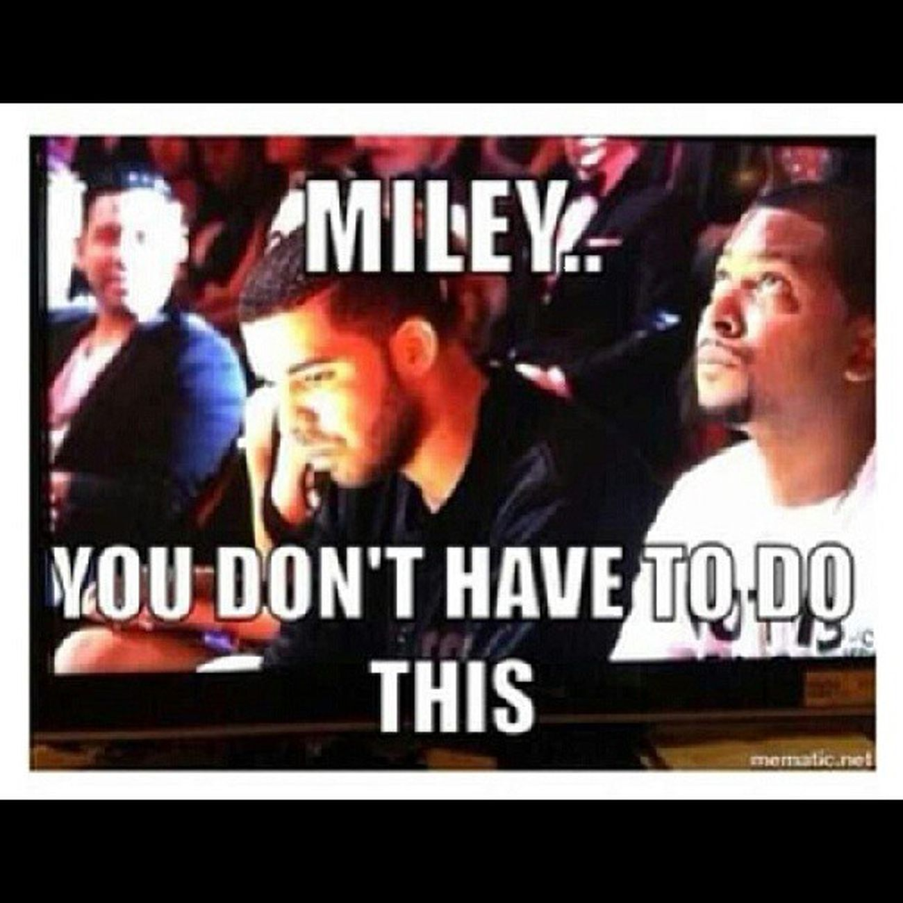 "CTFU!!! ""Drake the type of n*gga that..."" Drake  Mileycyrus Twerkin Vmas MTVvideoMusicAwards"