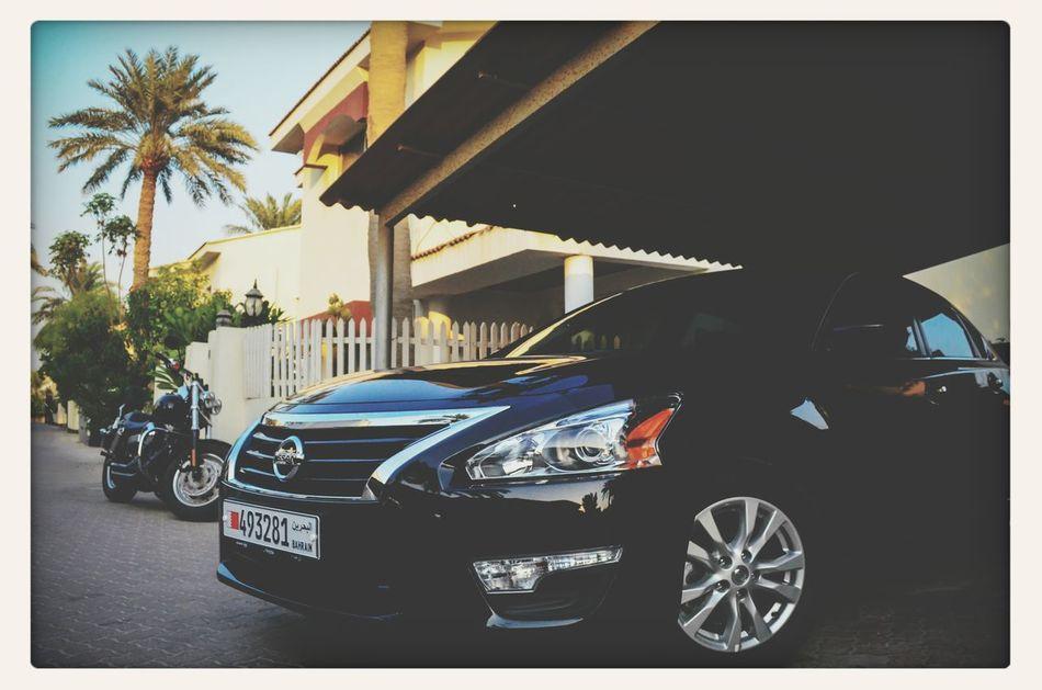 New Life I Love Bahrain NISSAN ALTIMA Coupe My Harley!