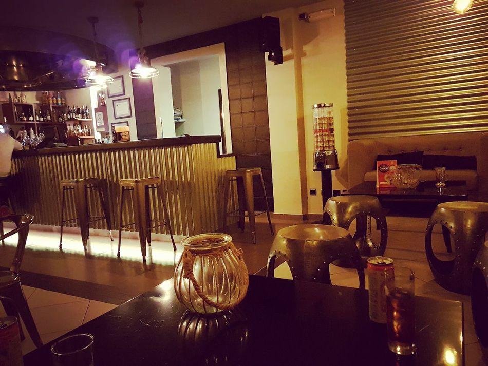 Bar - Drink Establishment Bar Counter Illuminated Indoors  Bar Factory Night With Friends