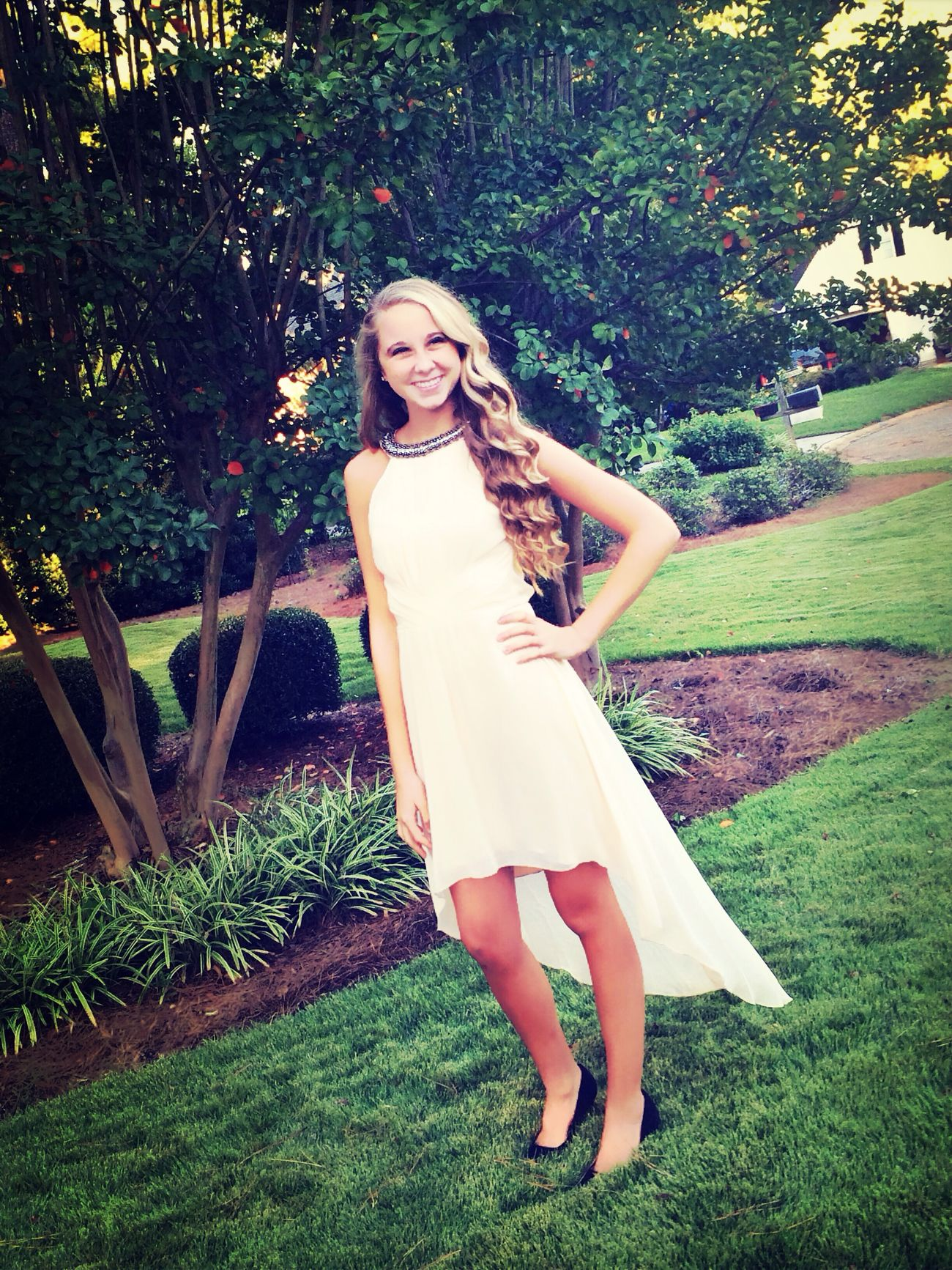 My baby girls first homecoming! Hoco2014 Girl Dance beauty