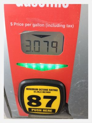 Gas in my town today!! at Safeway by Debbie Beach