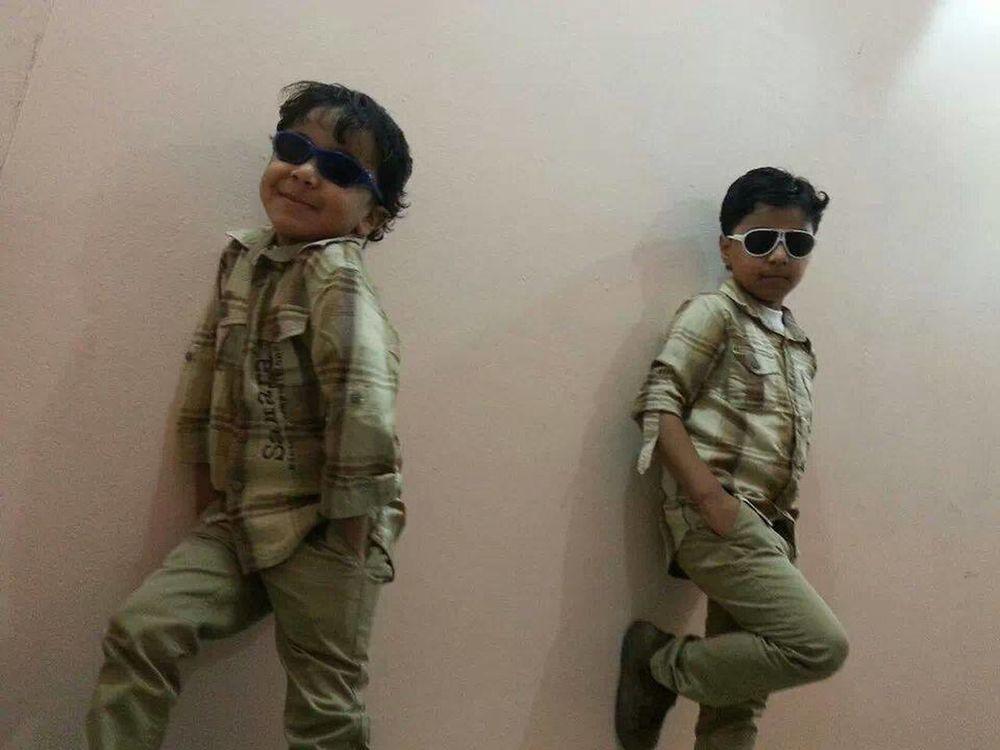 hhhhhhhh Mahmoud My Children Seif Student Two People First Eyeem Photo