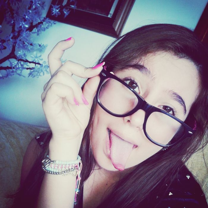 I Am Happy Today (: That's Me Forever Alone :( Am I Cuteee Now ? C: