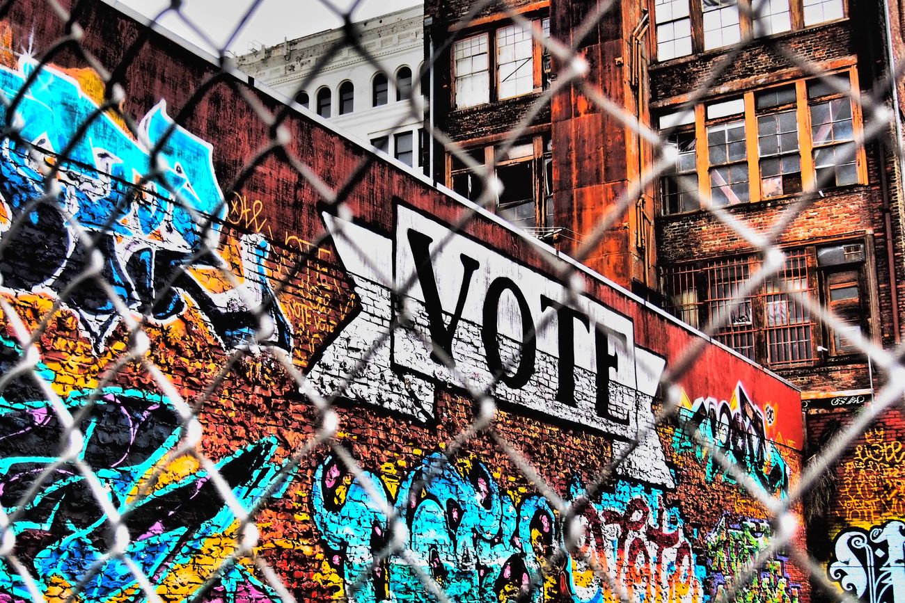 More important then ever! Streetphotography Urban Landscape San Francisco Streetart/graffiti Soma