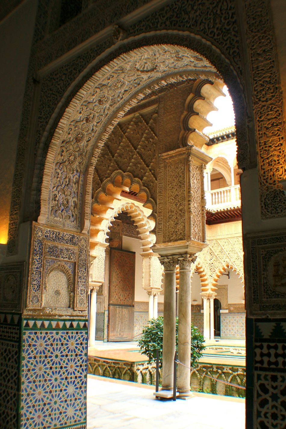 Seville,spain Sevilla Seville Arabic Style Arabesque Realalcazar Realesalcazares Architectural Detail Architecture_collection Architectural Column Arch The Architect - 2016 EyeEm Awards Travel Travel Destinations EyeEm Gallery Check This Out Andalucía Andalucia_monumental Your Design Story Feel The Journey Fine Art Photography