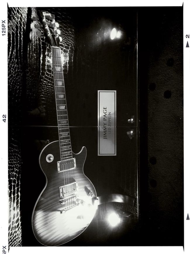 met up jimmy page Black And White