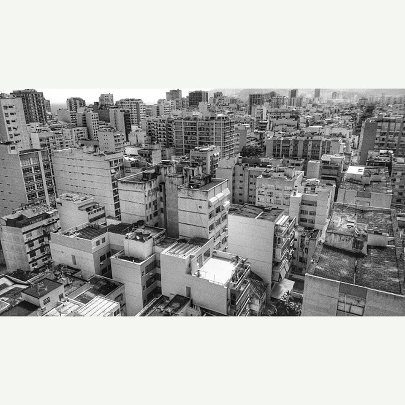 Squareinstapic Rio from up high Rio Brazil