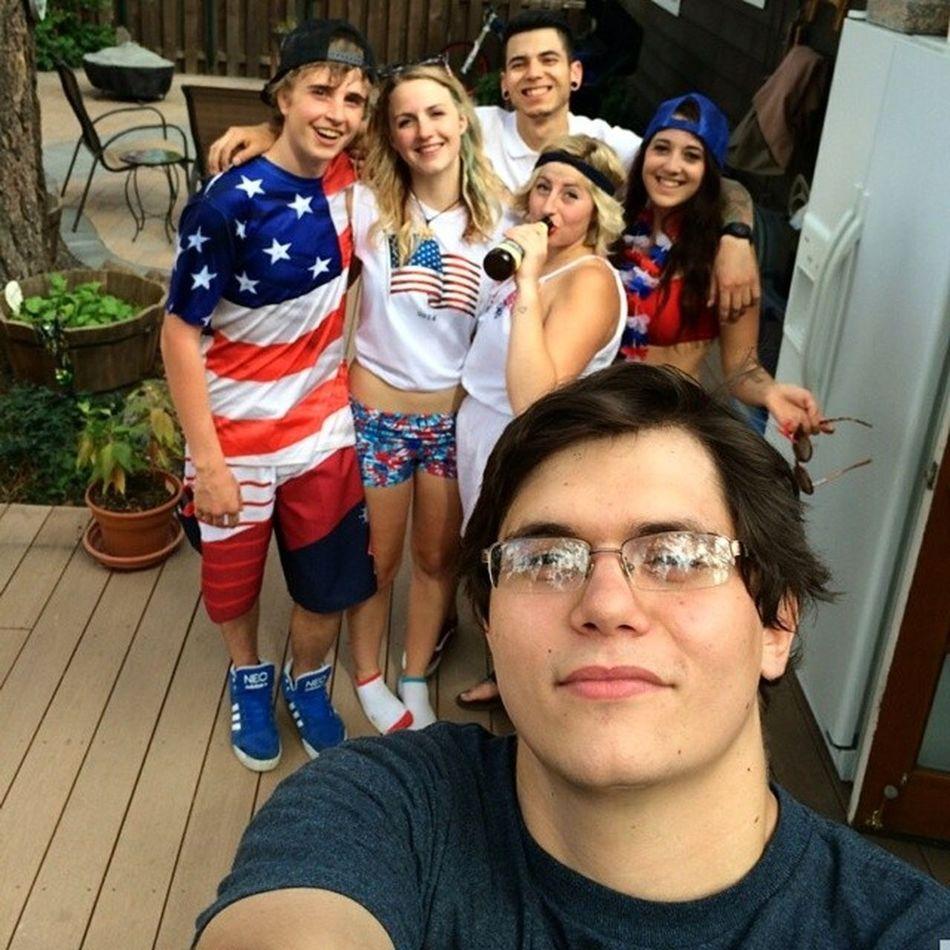 I hope you all had a great weekend celebrating America! Freedomride Mericah