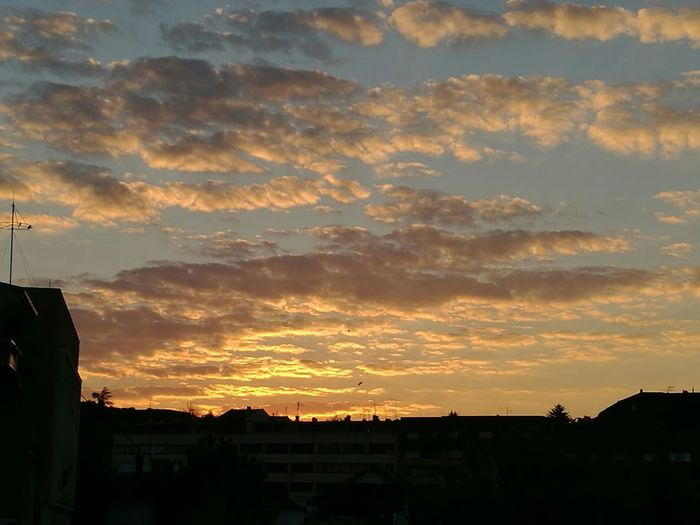Sunrise Sky From Inside To Outside Skylover