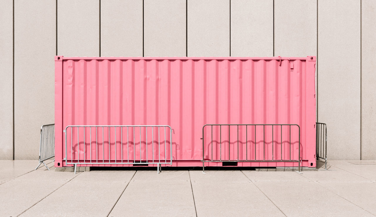 Excitement Container Balance Container Geometric Leading Lines Light And Shadow Minimal Pastel Pink Rule Of Thirds Shipping Containers Structure Sunlight Symmetrical Symmetry Symmetryporn Color Palette EyeEm X Lexus - Your Design Story