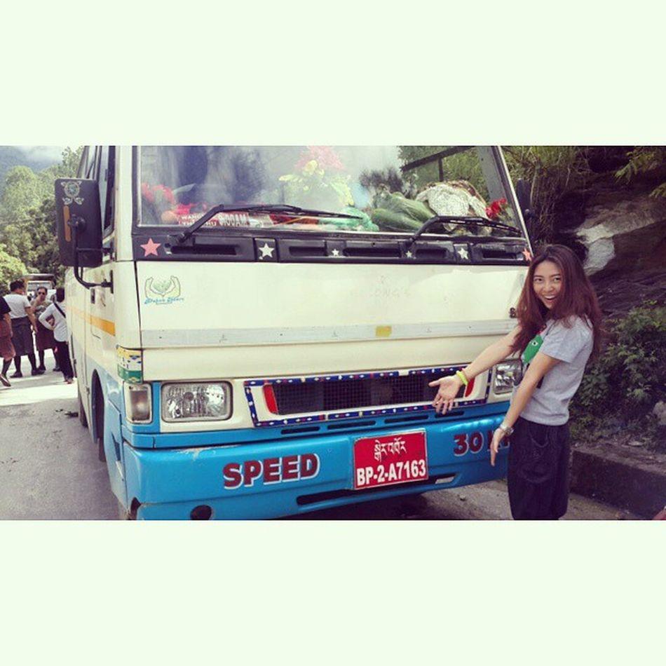 เมื่อไม่มีอะไรทำ...ก็ถ่ายรูปเล่นฆ่าเวลาไป ;p Enroute Route Blocked Killthetime Punakha to Thimphu