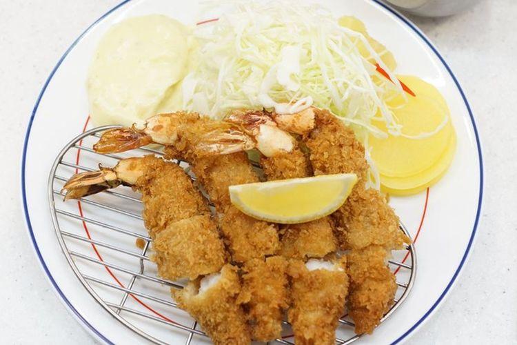 명동 새우 후라이 myongdong fried shrimp새우튀김 Fried Shrimp Myongdong 명동