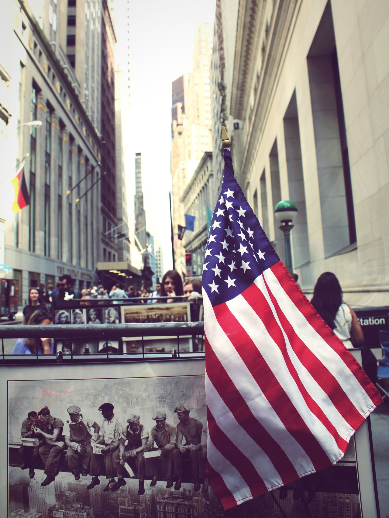 Beautiful stock photos of stock exchange, American Culture, American Flag, Architecture, Building