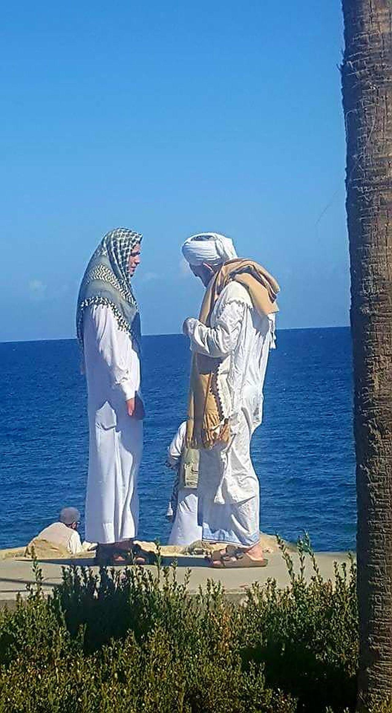 EyeEm Gallery Men Men Talking Outdoors People Sea Someone Special Somewhere
